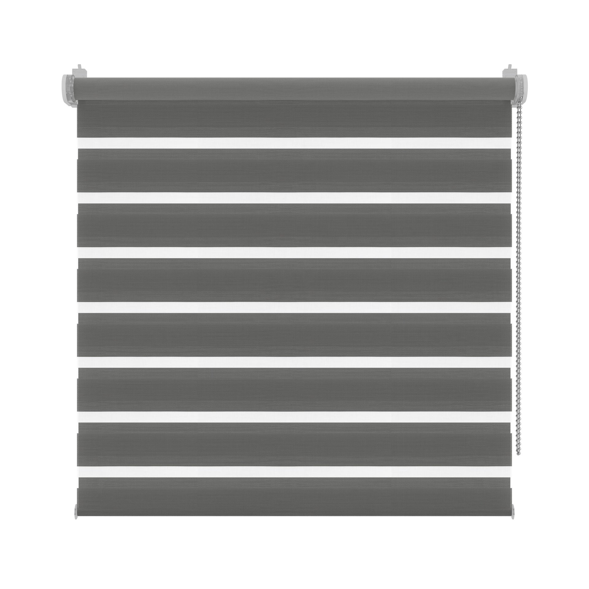 Tenda a rullo Orleans grigio 70 x 190 cm - 4