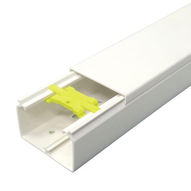 Canalina gtl 200 x 4 x 6 cm bianco - 1