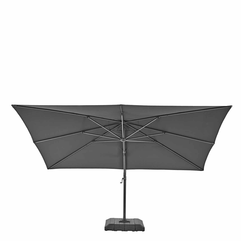 Ombrellone NATERIAL Sonora L 2.82 x P 3.91 m color grigio - 16