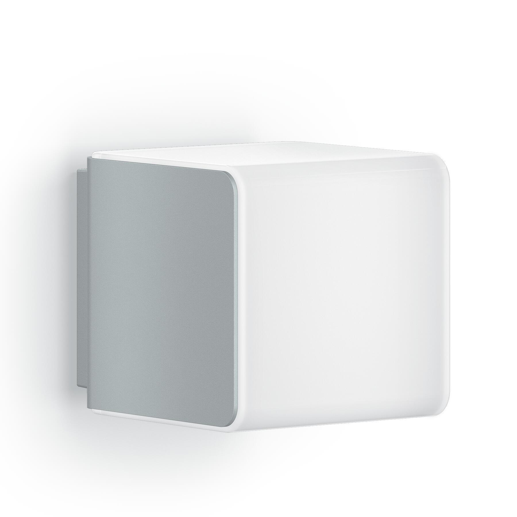 Applique L 830 LED integrato con sensore di movimento, grigio, 9.5W 502LM IP44 STEINEL - 2