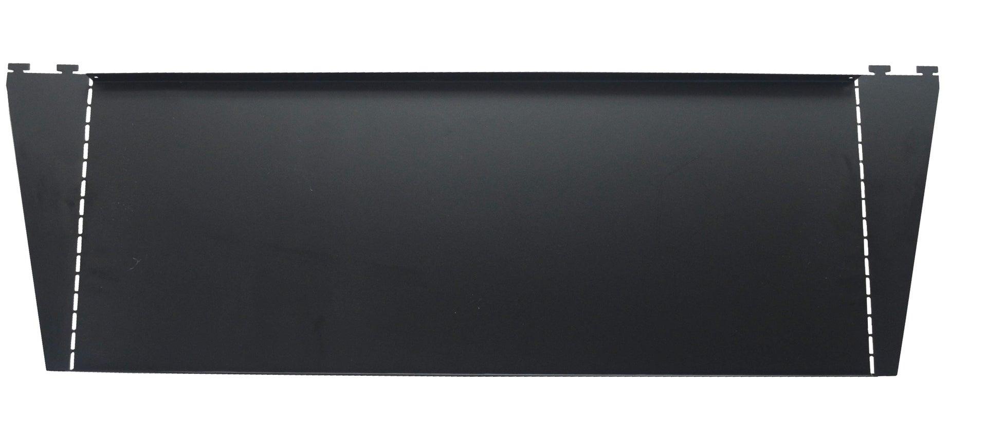 Set di 2 pezzi, Ripiano Element System L 80 x H 10 x P 30 cm nero