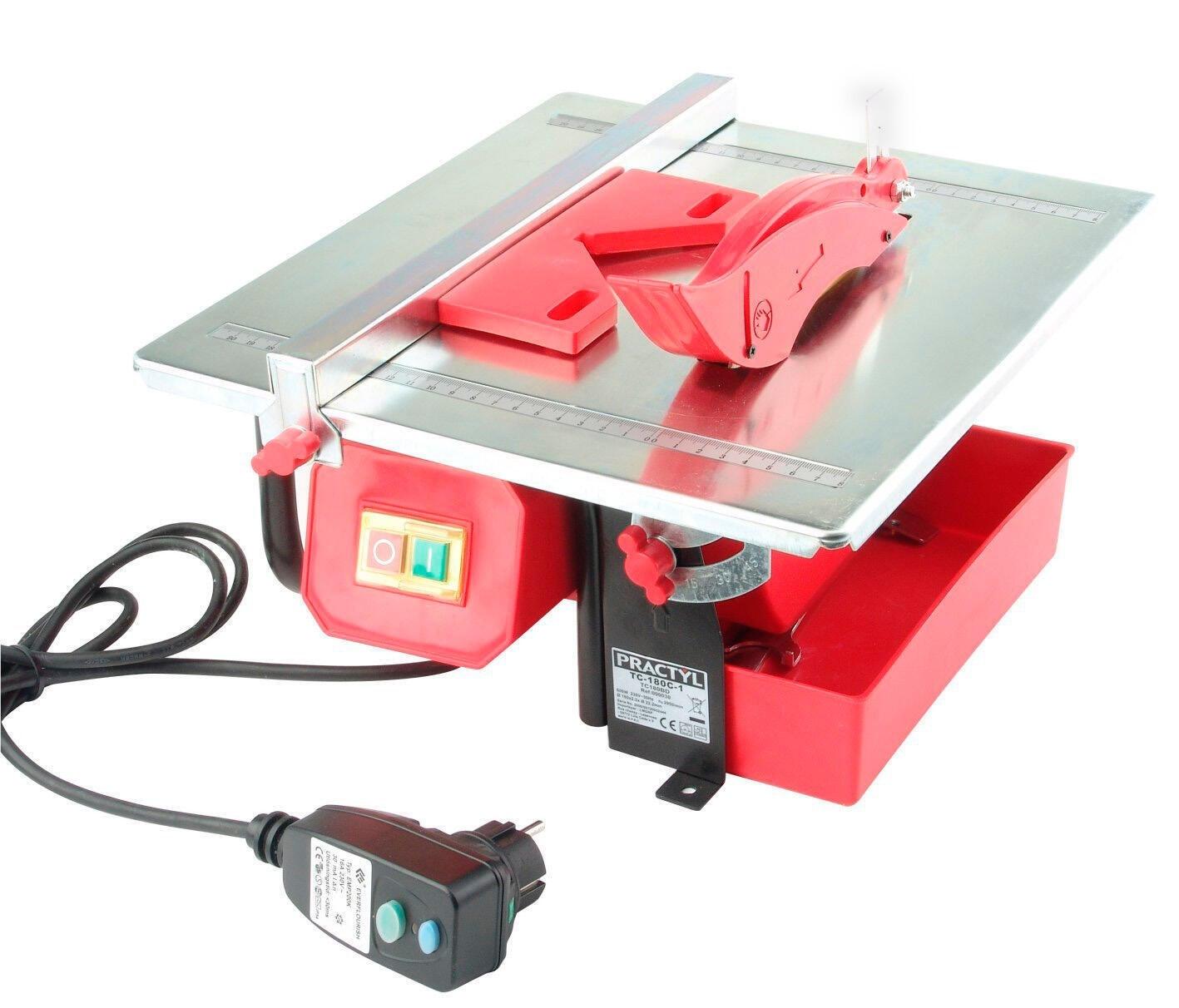 Tagliapiastrelle elettrica PRACTYL Ø disco 180.0 mm, H taglio 33.0 mm, 600.0 W - 2