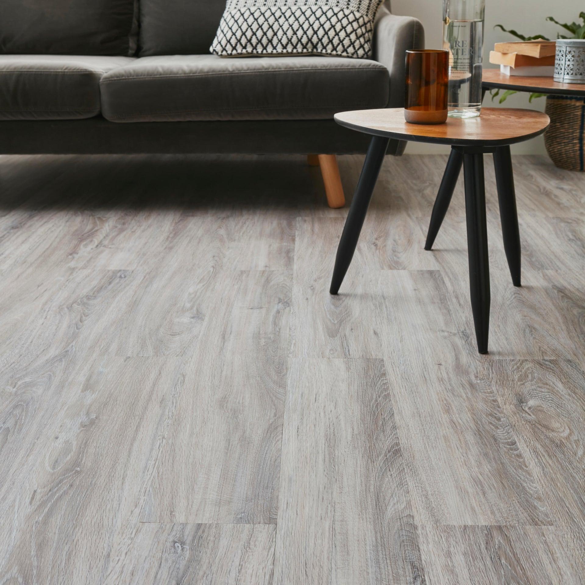 Pavimento PVC adesivo Mayum Sp 2 mm grigio / argento - 2