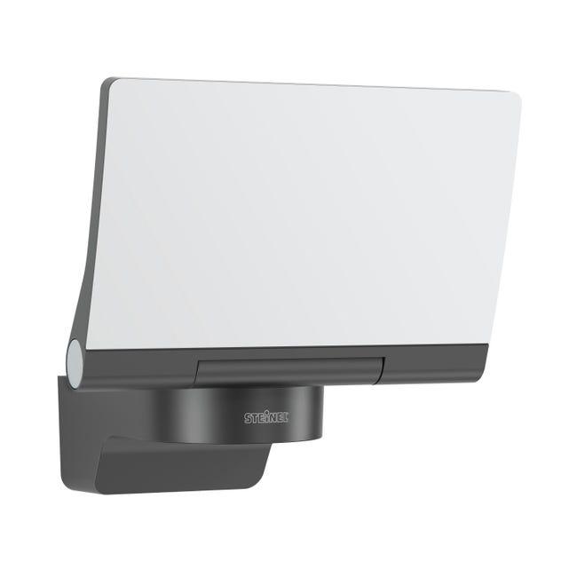 Proiettore LED integrato Xled home 2 sl in plastica, nero, 13W 1184LM IP44 STEINEL - 1