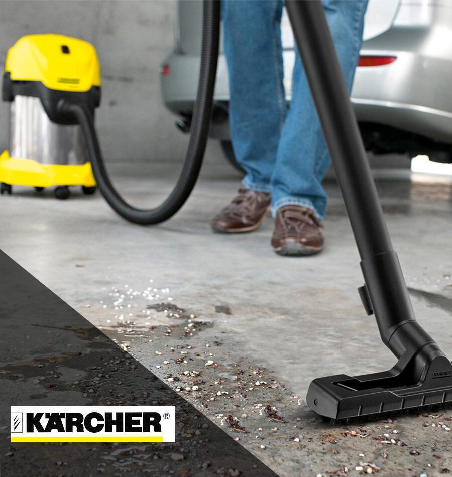 Aspiratore solidi e liquidi KARCHER WD 3 Premium aspirazione 21.0 kPa 17.0 L 1000.0 W - 2