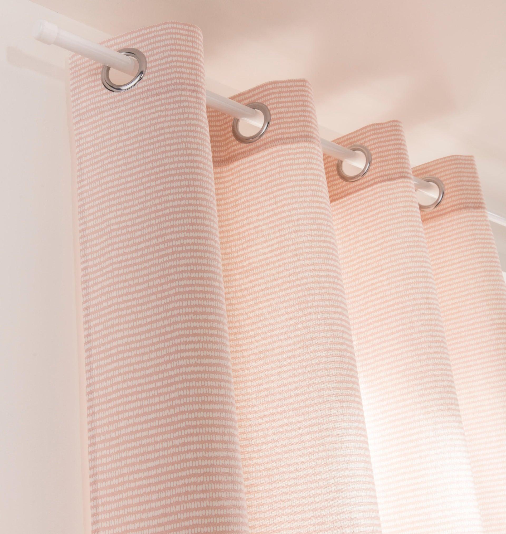Finale per bastone Nilo tappo in metallo Ø20mm bianco lucido INSPIRE Set di 2 pezzi - 3