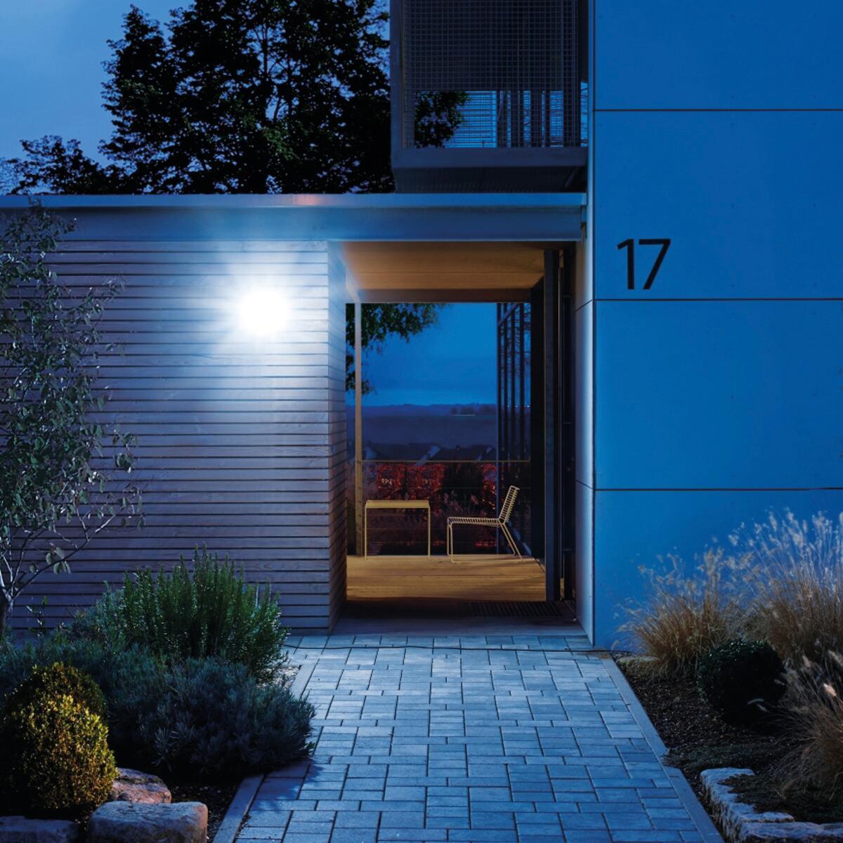 Proiettore LED integrato Xled home 2 sl in plastica, nero, 13W 1184LM IP44 STEINEL - 6