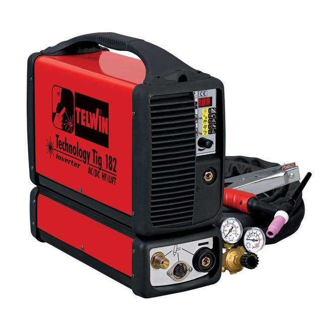 Saldatrice inverter TELWIN Technology mma, tig 160 A 5000 W - 1