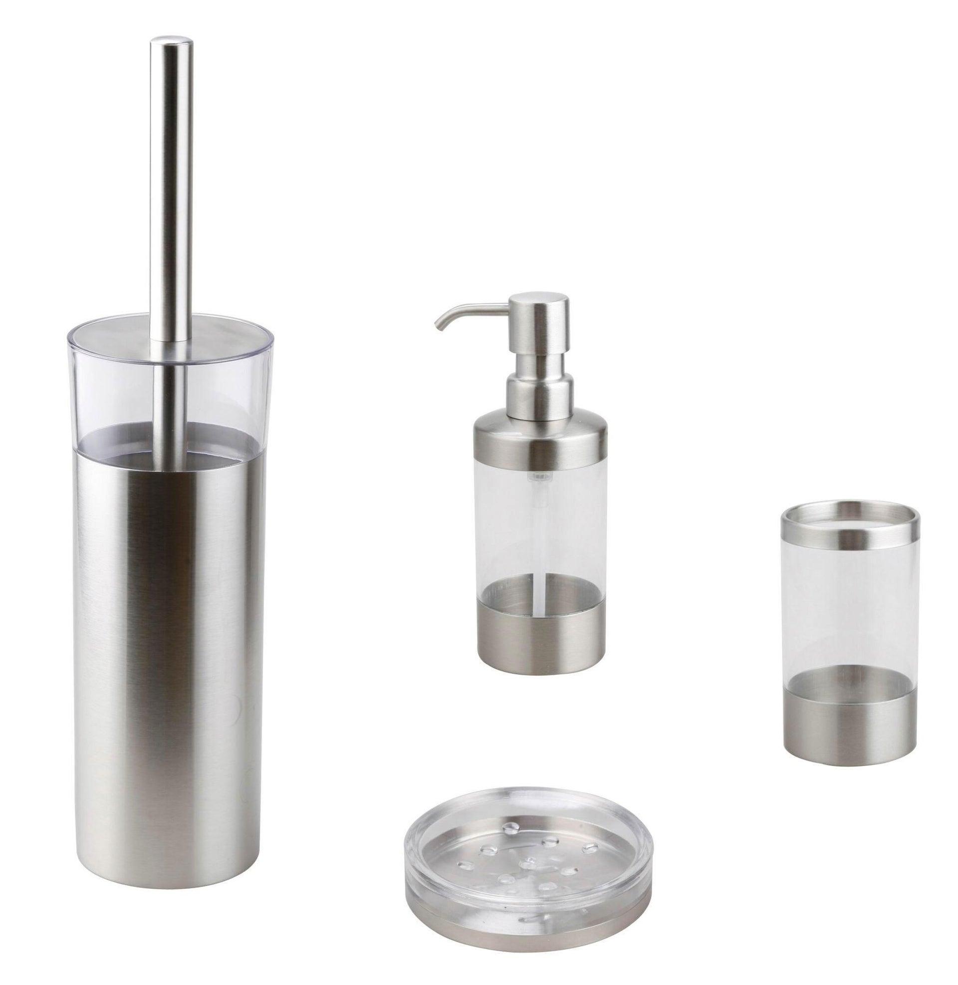 Dispenser sapone Loft trasparente - 2