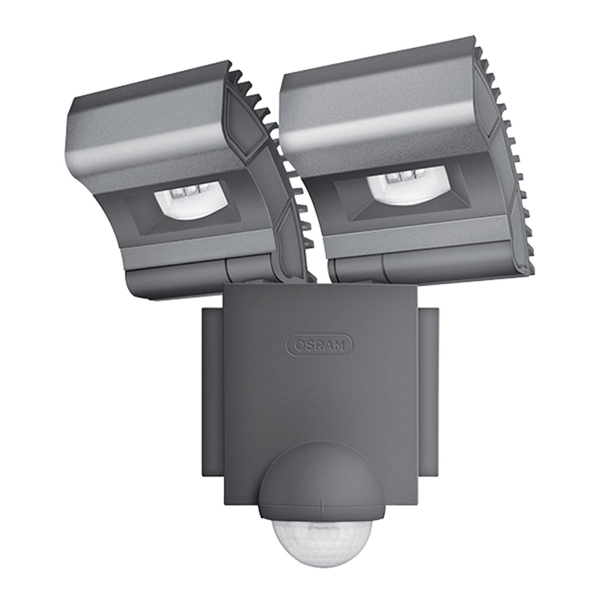 Proiettore LED integrato con sensore di movimento Noxlite in alluminio, grigio, 8W 1720LM IP44 OSRAM - 2