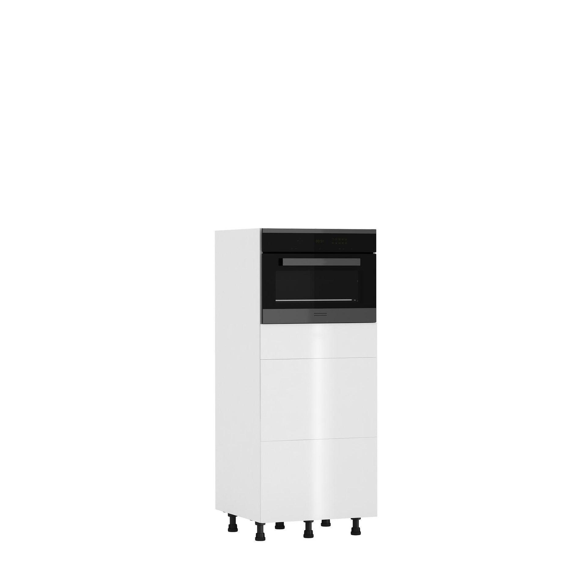 Semicolonna Siviglia bianco L 60H 138 x P 58 cm