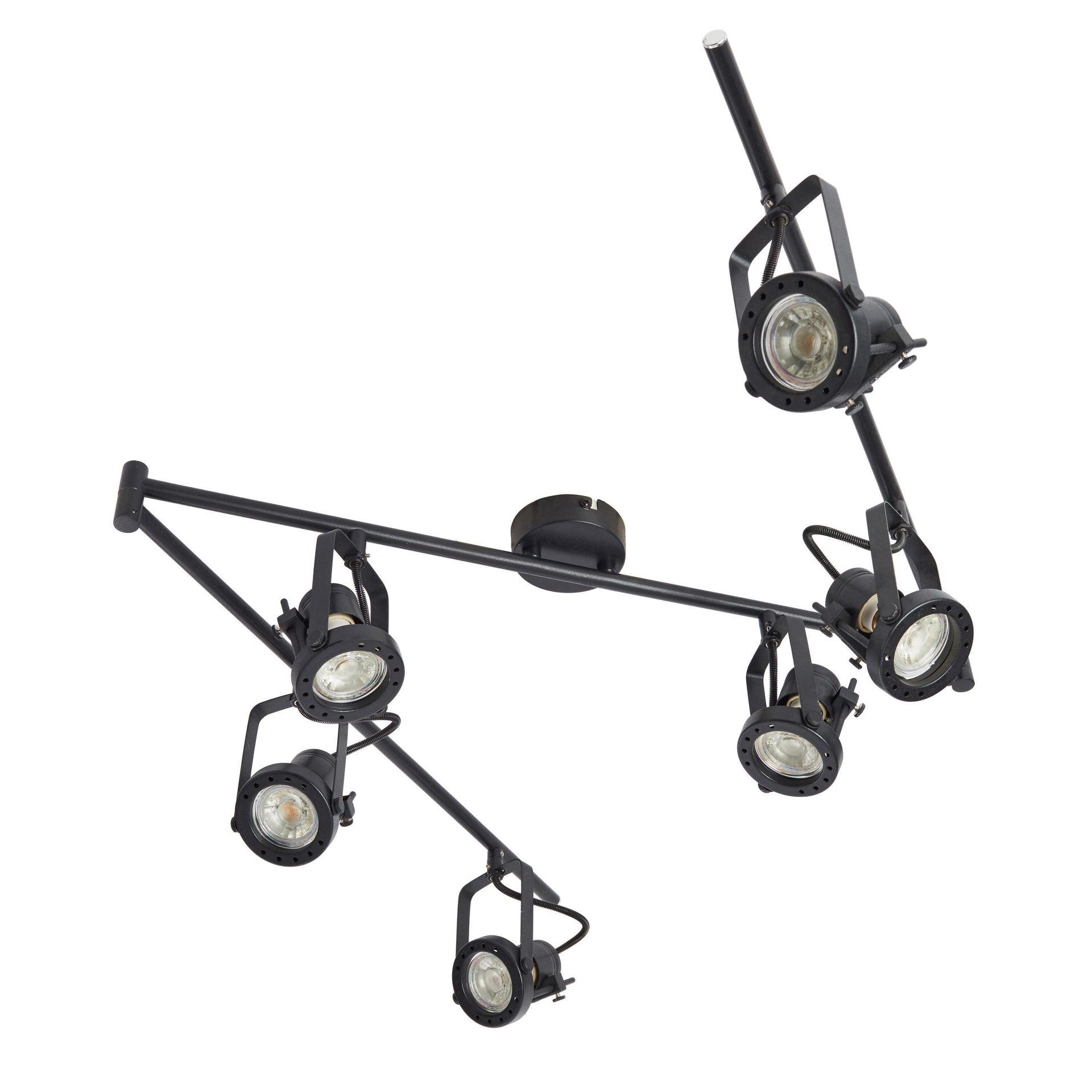 Faretto Technic nero in ferro GU10 42W INSPIRE - 4