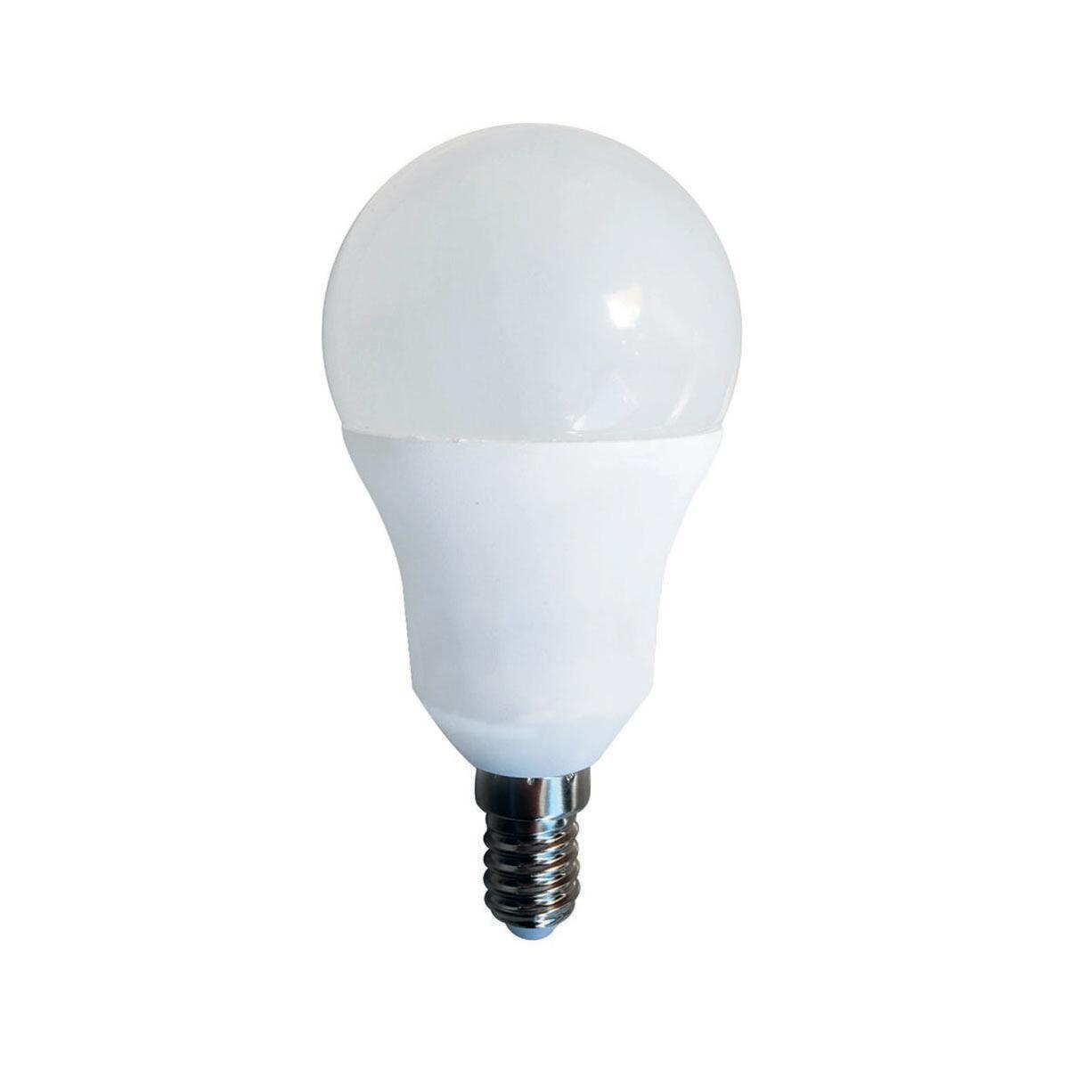 Lampadina LED, E14, Goccia, Opaco, CCT, 5.5W=470LM (equiv 40 W), 150° , LEXMAN - 1