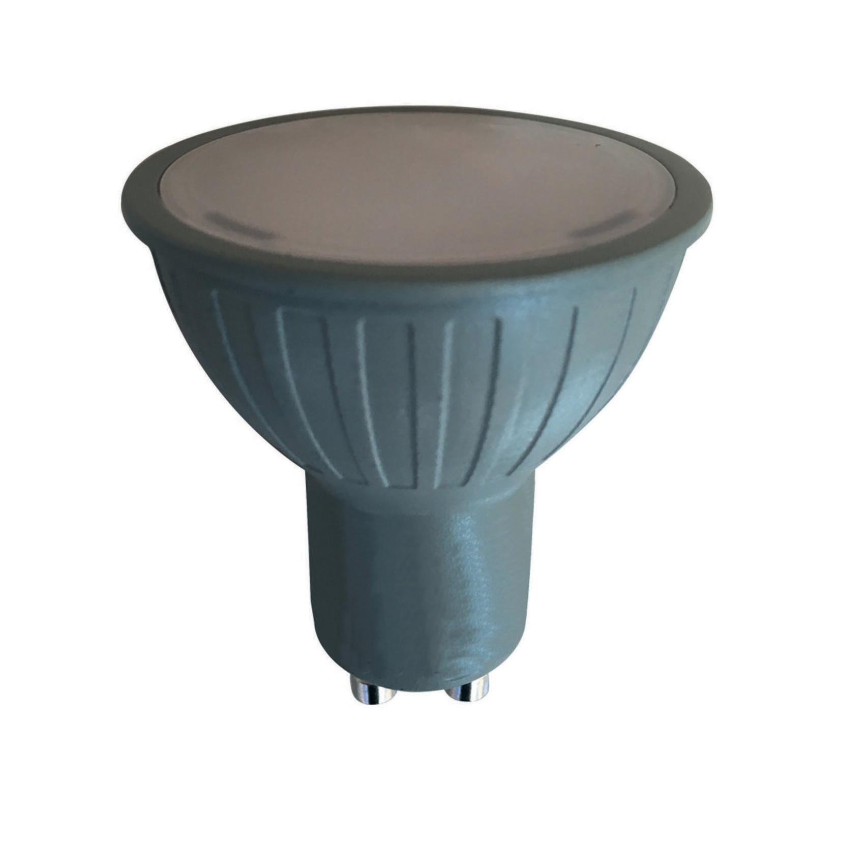 Lampadina LED, GU10, Faretto, Opaco, CCT, 6W=345LM (equiv 50 W), 100° , LEXMAN - 1