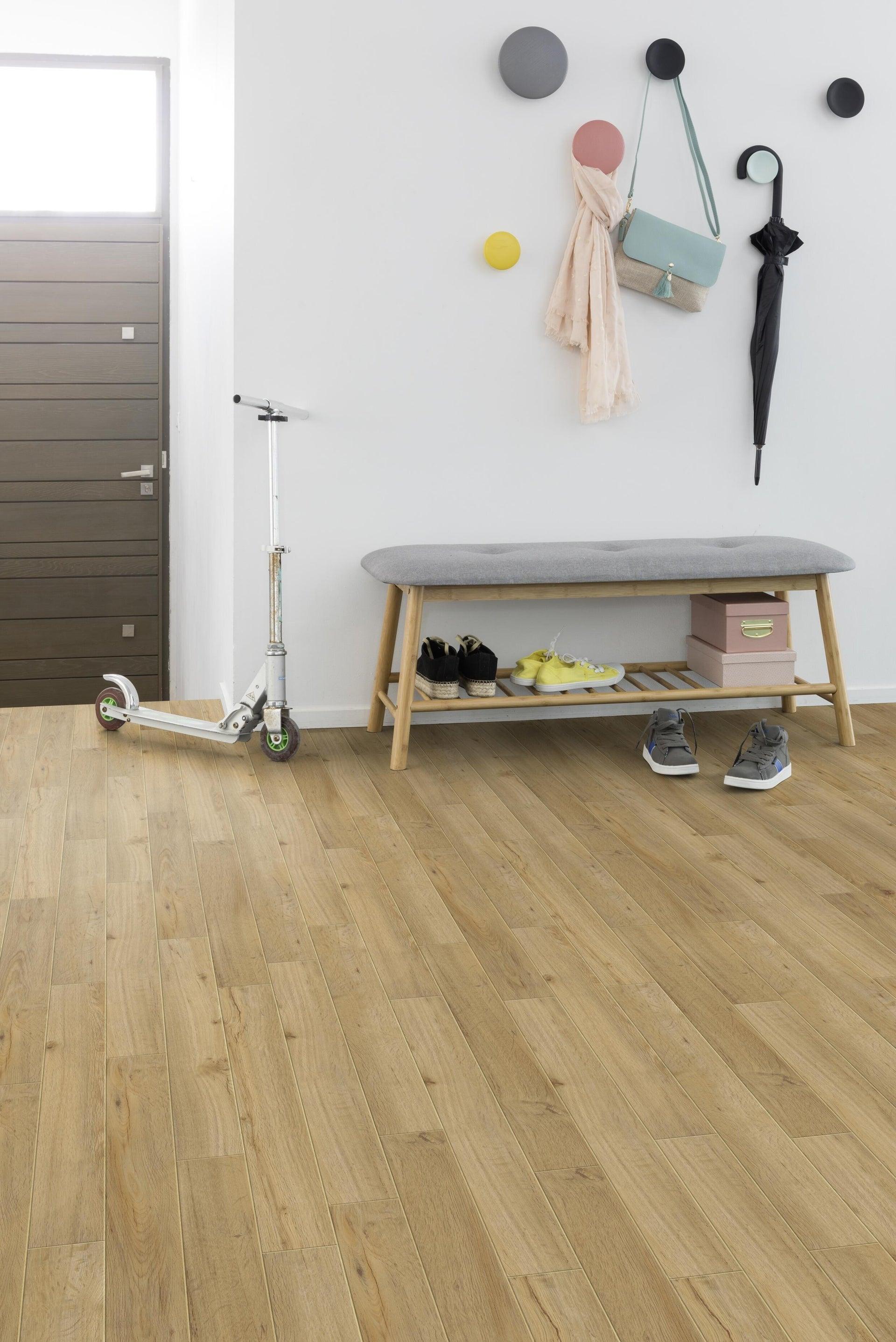 Pavimento PVC flottante clic+ Senso Premium Columbia Sp 4.5 mm giallo / dorato - 5