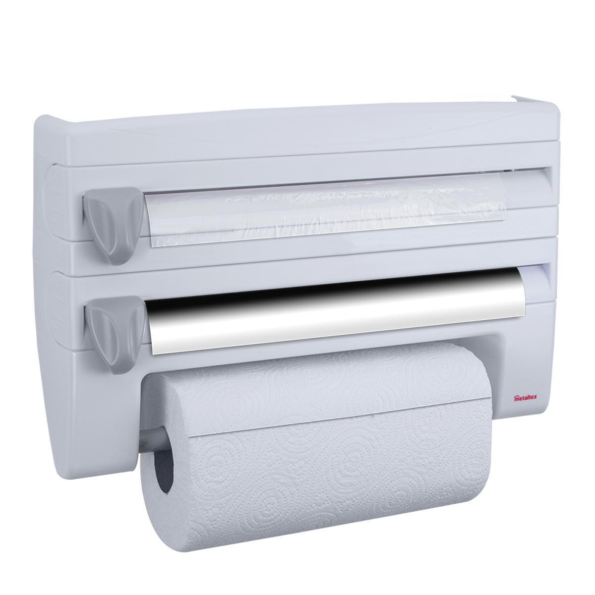 Porta rotolo carta assorbente Roll'n Roll in plastica L 39 x H 25 cm