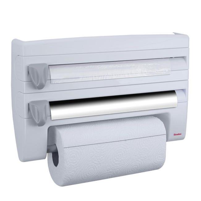 Porta rotolo carta assorbente Roll'n Roll in plastica L 39 x H 25 cm - 1
