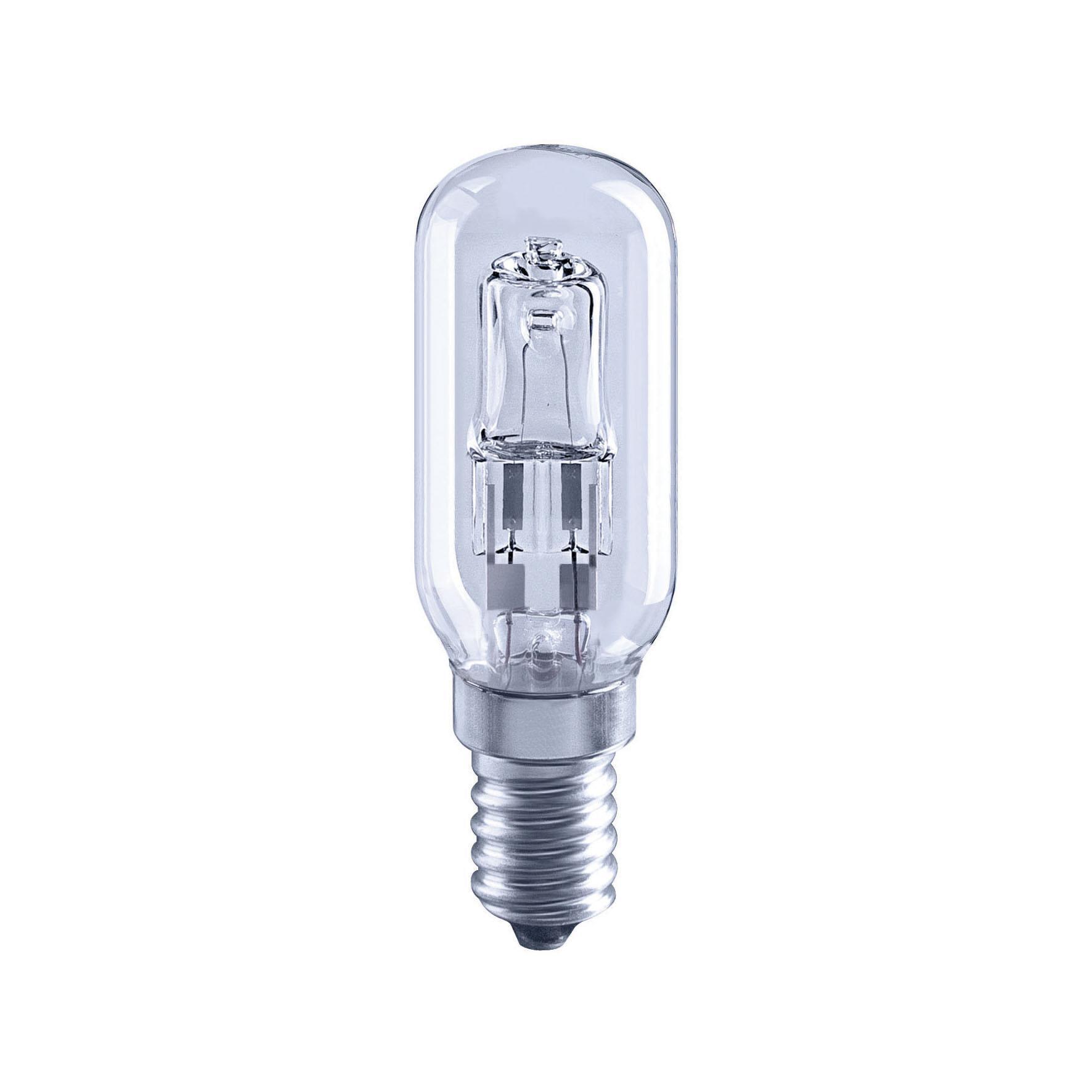 Lampadina Alogena, E14, Bulbo, Trasparente, Luce calda, 30W=410LM (equiv 40 W), 360° , LEXMAN - 1