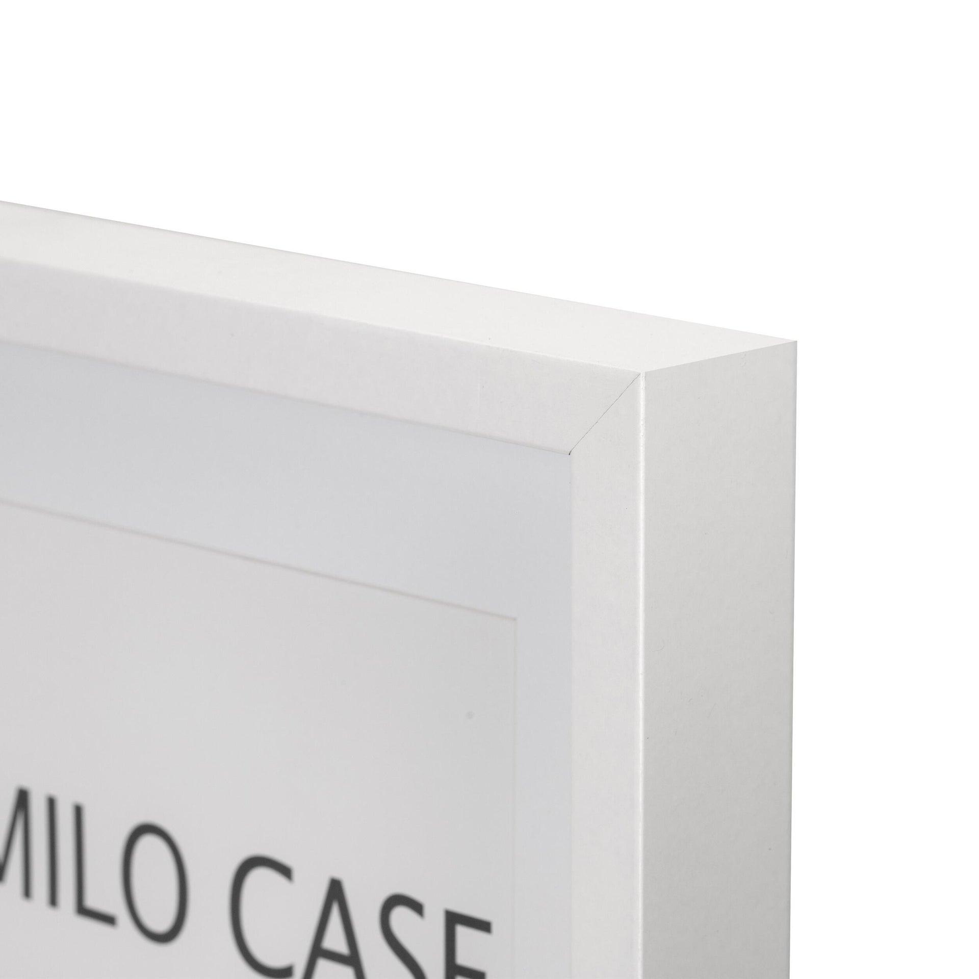 Cornice con passe-partout Inspire milo bianco 30x40 cm - 6