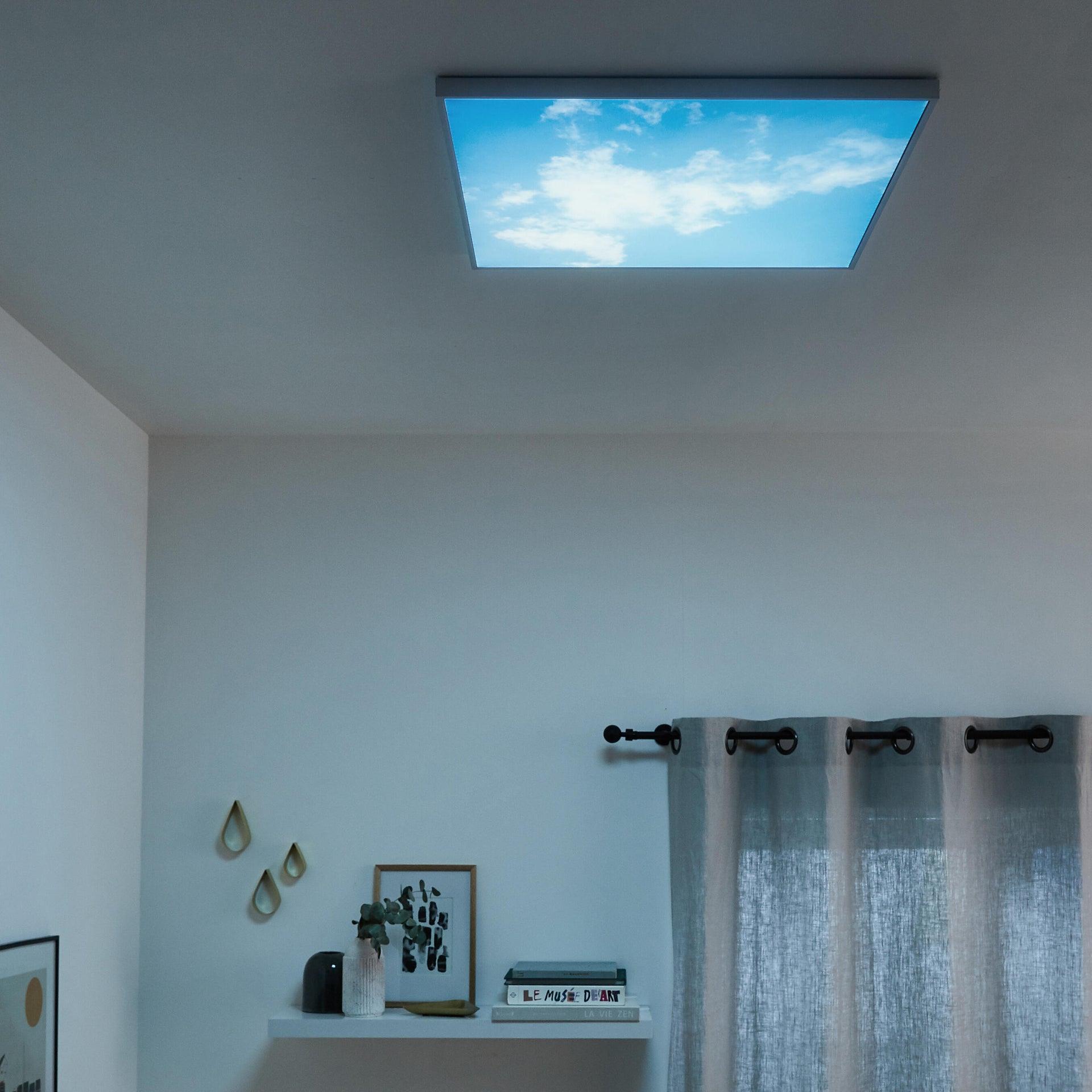 Pannello led Sky 60x60 cm cct regolazione da bianco caldo a bianco freddo, INSPIRE - 7