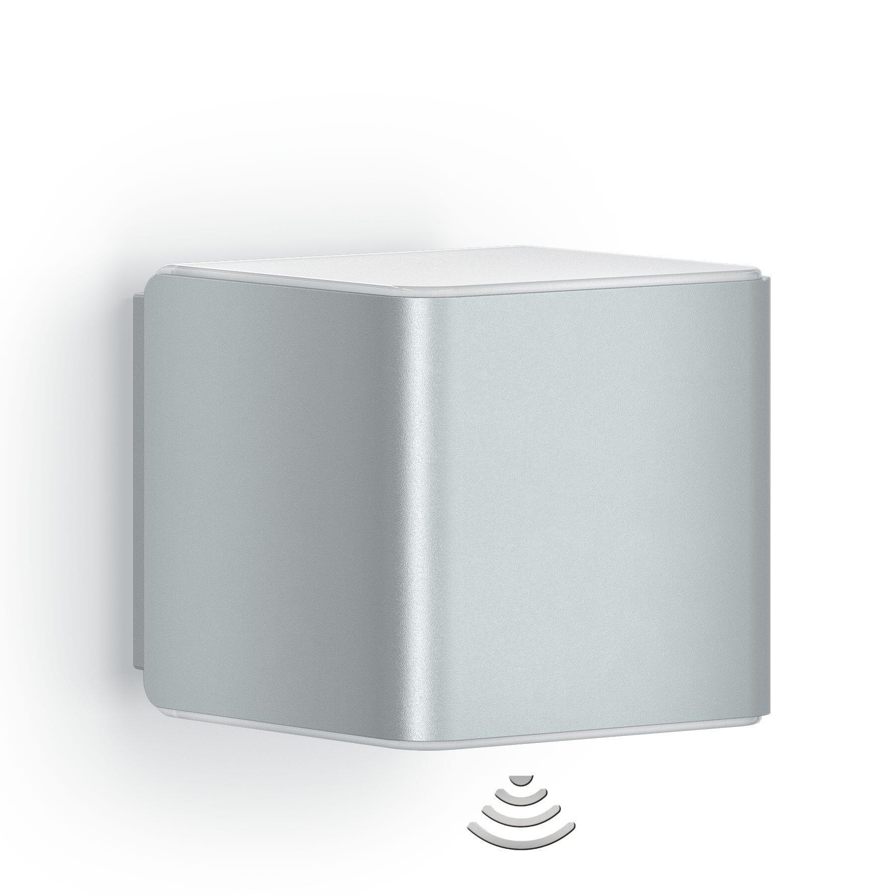 Applique L 840 LED integrato con sensore di movimento, grigio, 9.5W 305LM IP44 STEINEL - 6