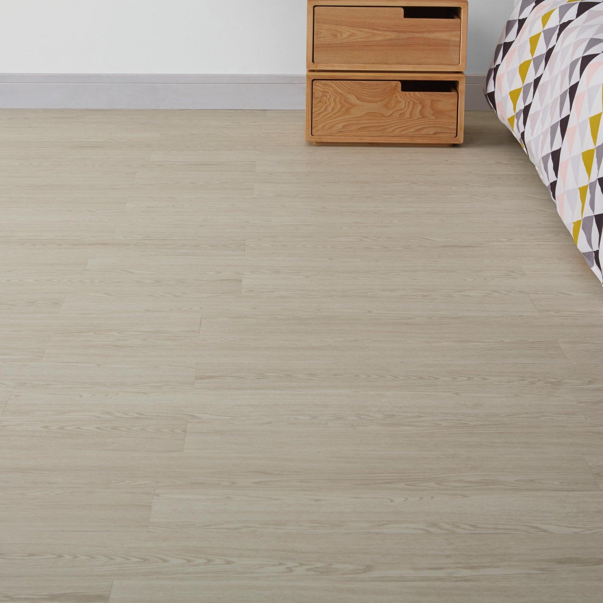 Pavimento PVC adesivo Whiwood Sp 1.8 mm bianco - 1