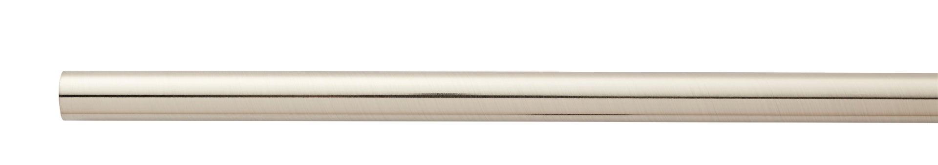 Kit bastone per tenda estensibile Doppio in metallo Ø 16/19 mm grigio e argento spazzolato da 120 a 210 cm INSPIRE - 5