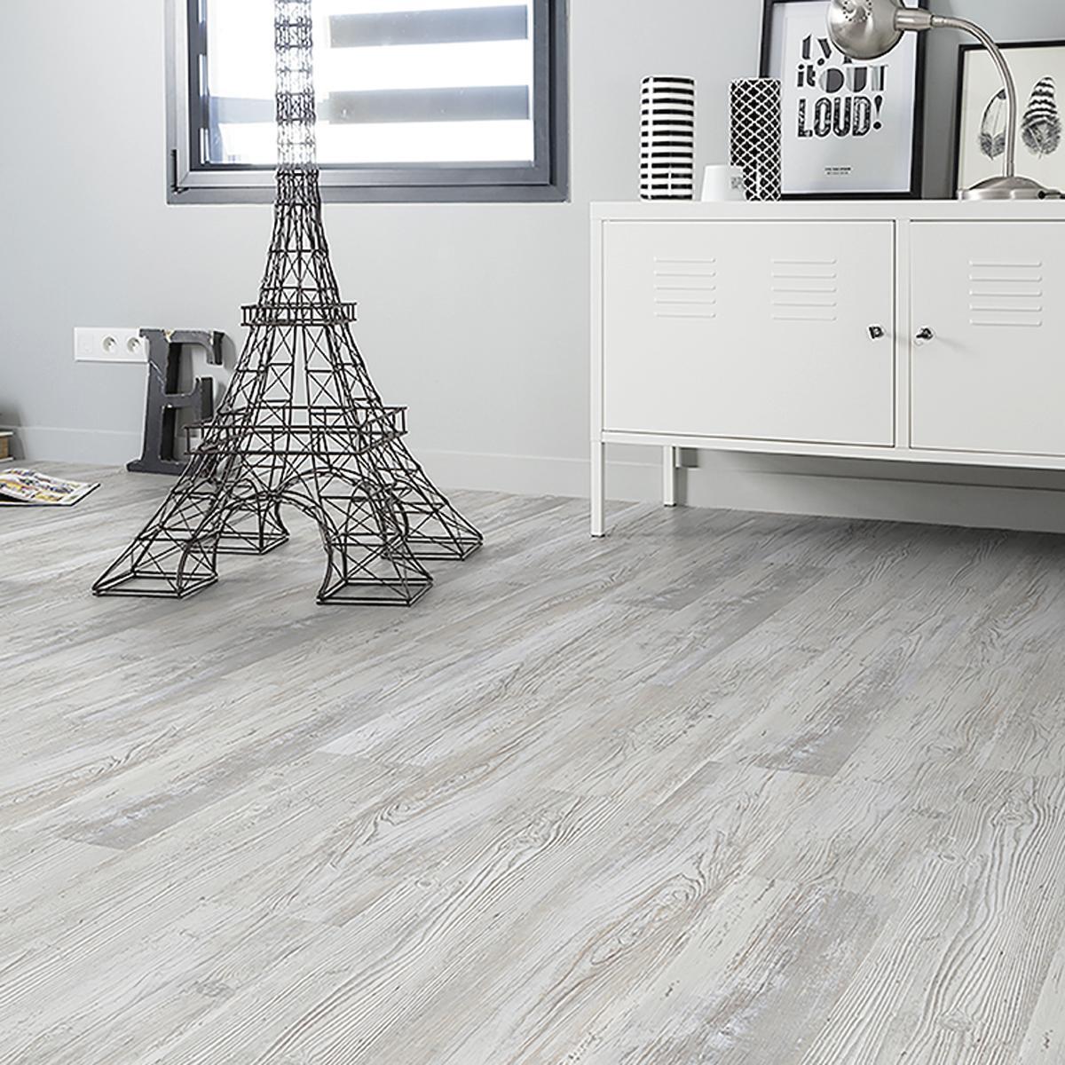 Pavimento PVC adesivo Senso Rustic Hielo Sp 2 mm bianco - 1