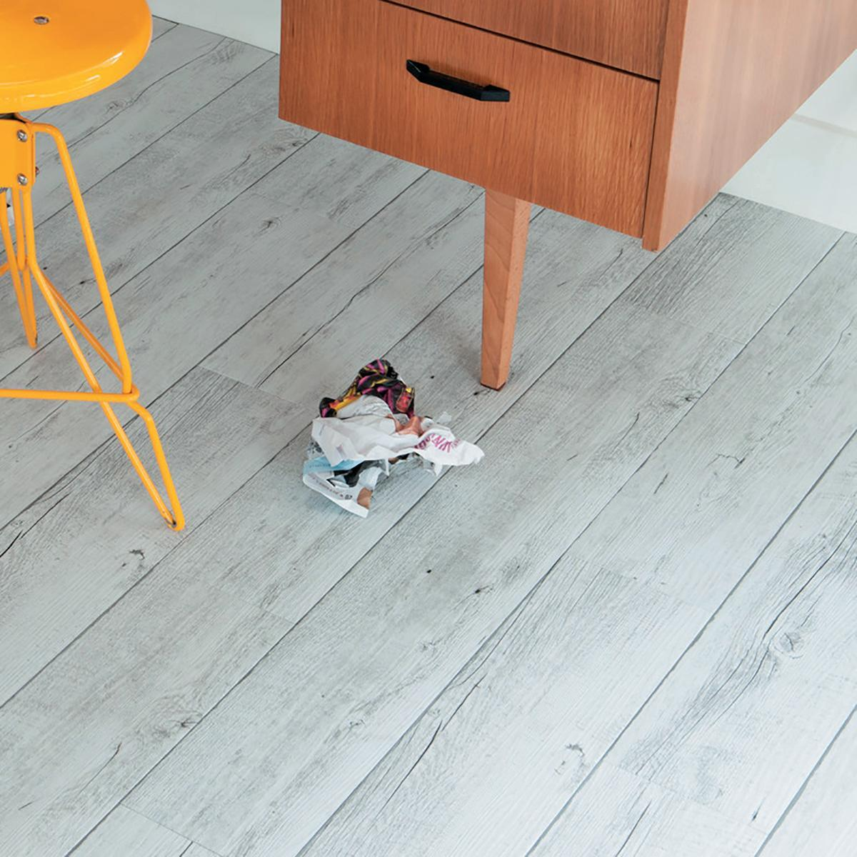 Pavimento PVC adesivo White Pecan Sp 2 mm bianco - 3