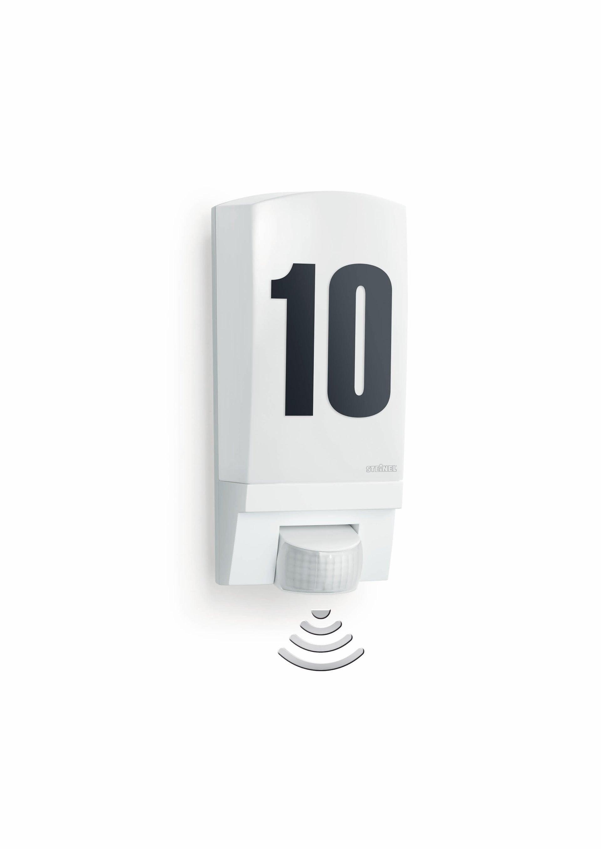 Applique L1 con sensore di movimento, bianco, E27 MAX60W IP44 STEINEL - 3