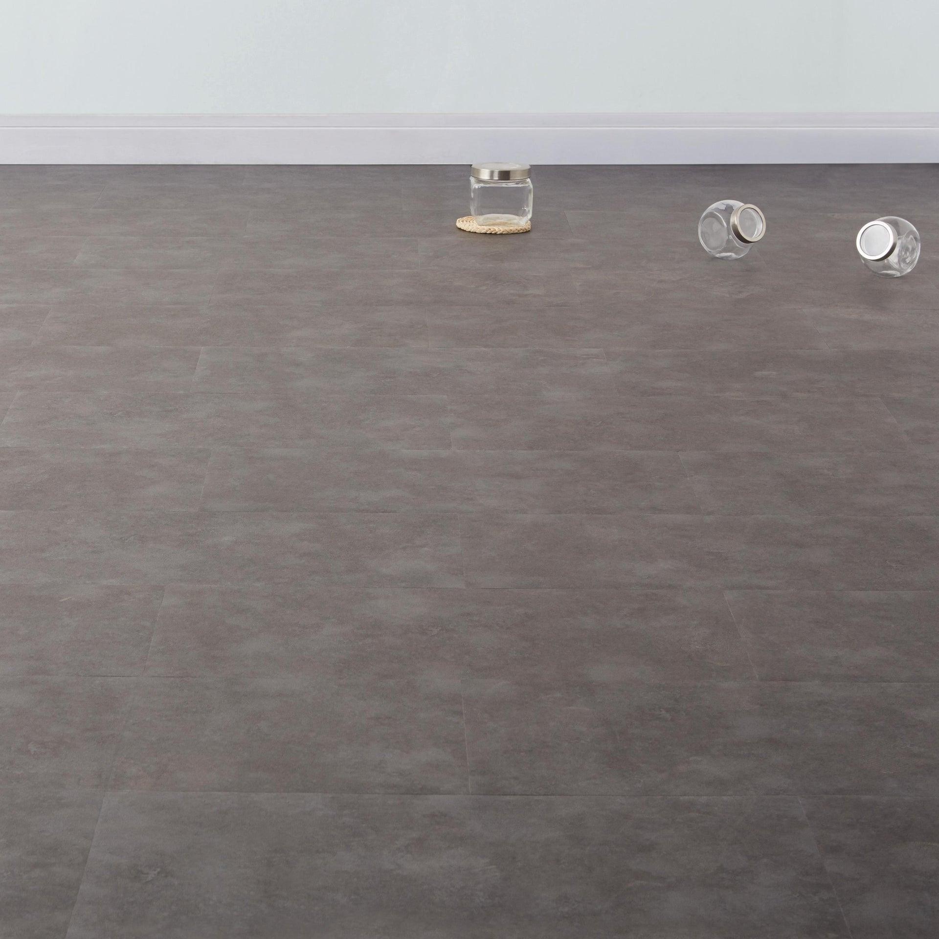 Pavimento PVC adesivo Dark Sp 1.5 mm grigio / argento - 1