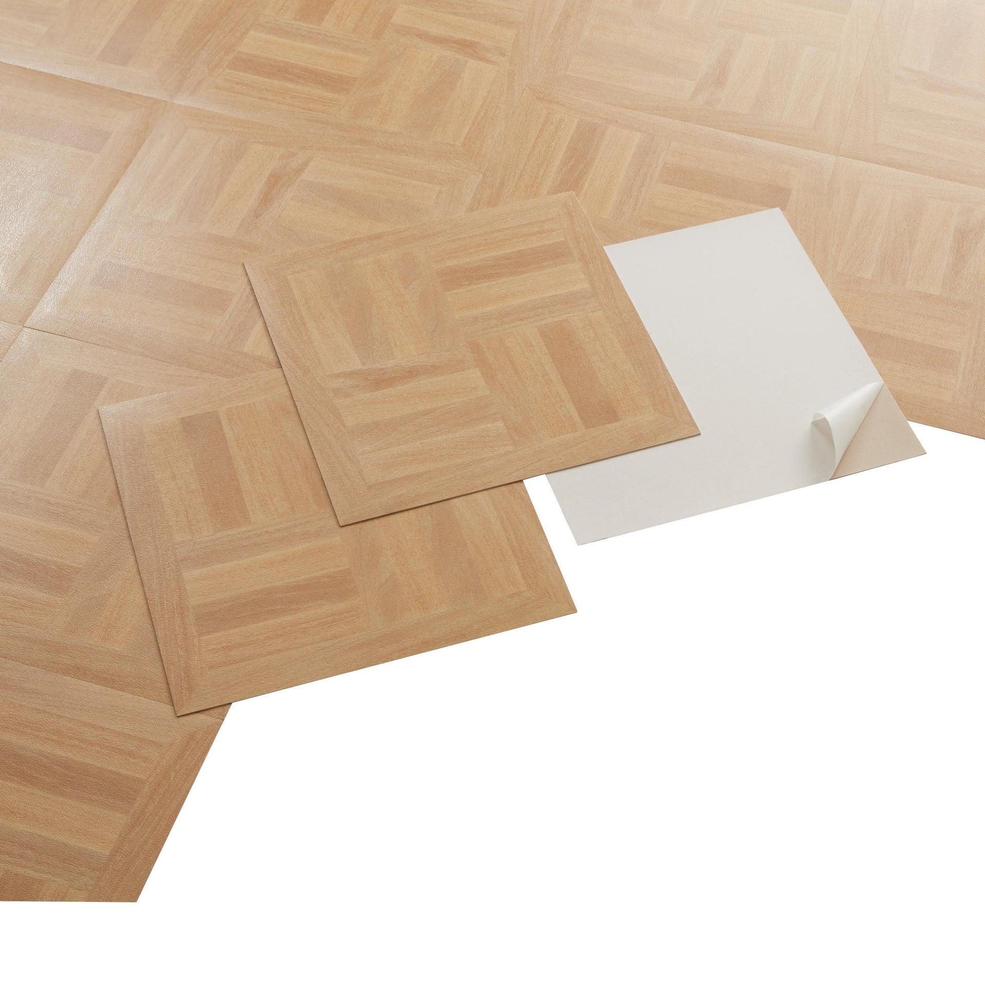 Pavimento PVC adesivo Dugan Sp 1.2 mm giallo / dorato - 3