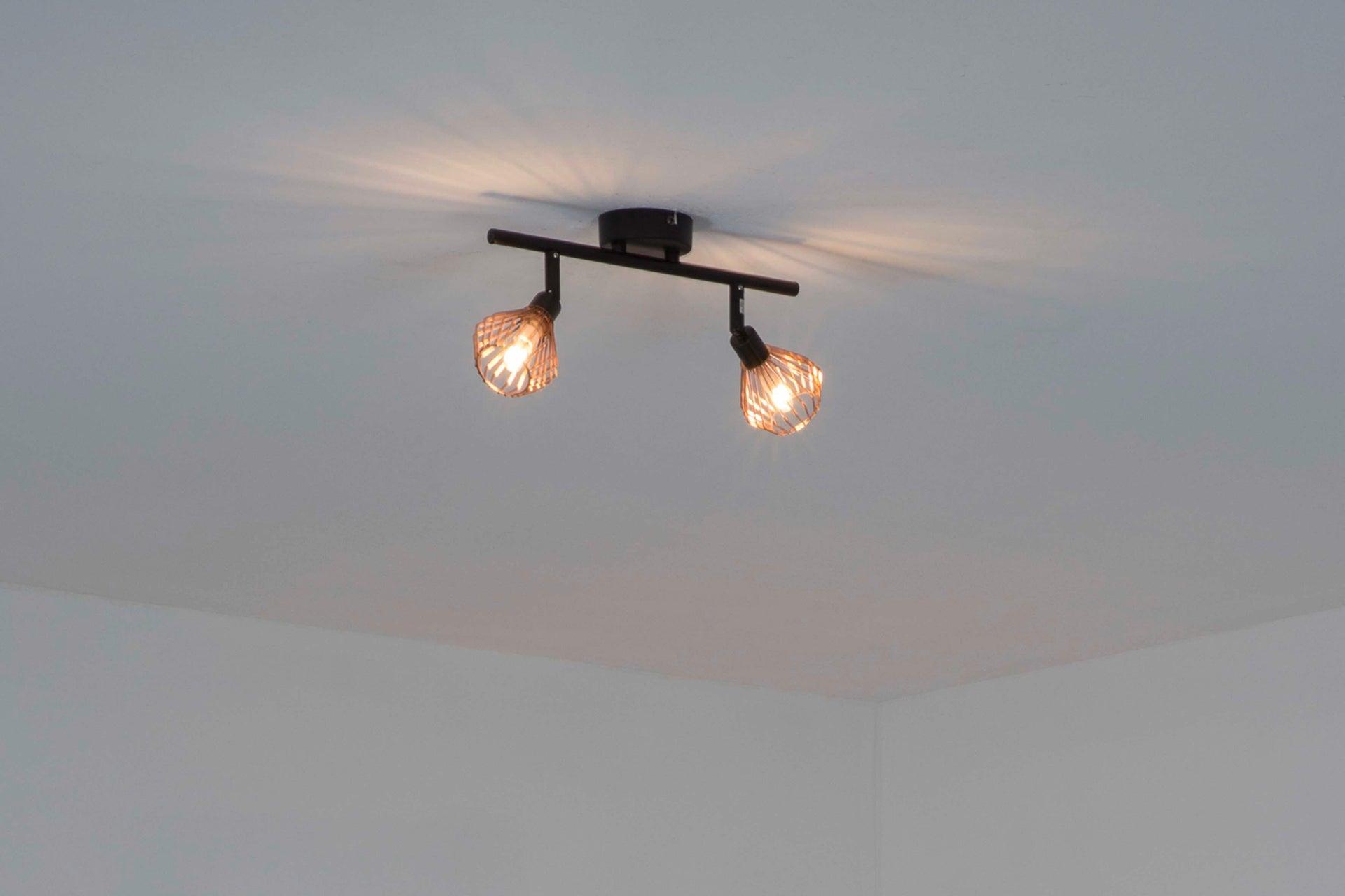 Barra di faretti Dalma rame, nero, in metallo, G9 2x33W IP20 BRILLIANT - 5