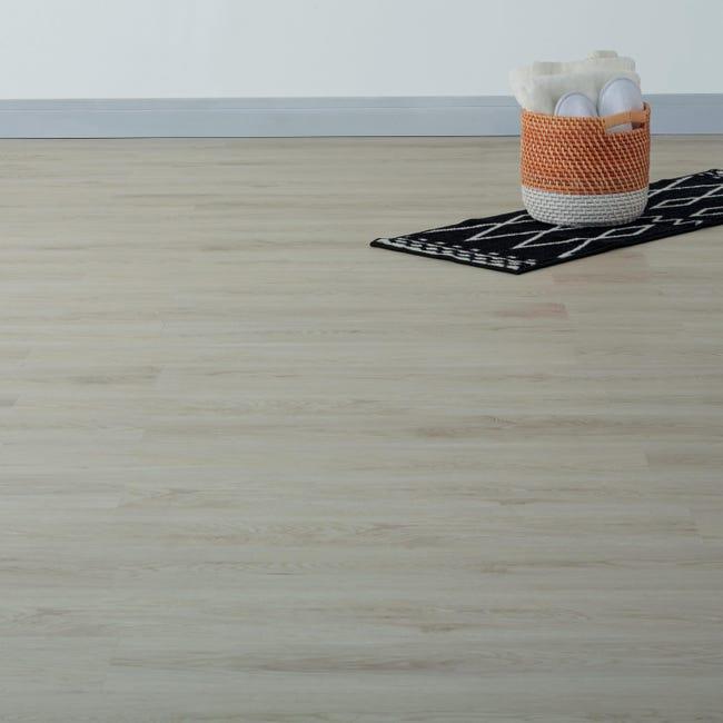 Pavimento PVC flottante clic+ Trend white Sp 4 mm bianco - 1