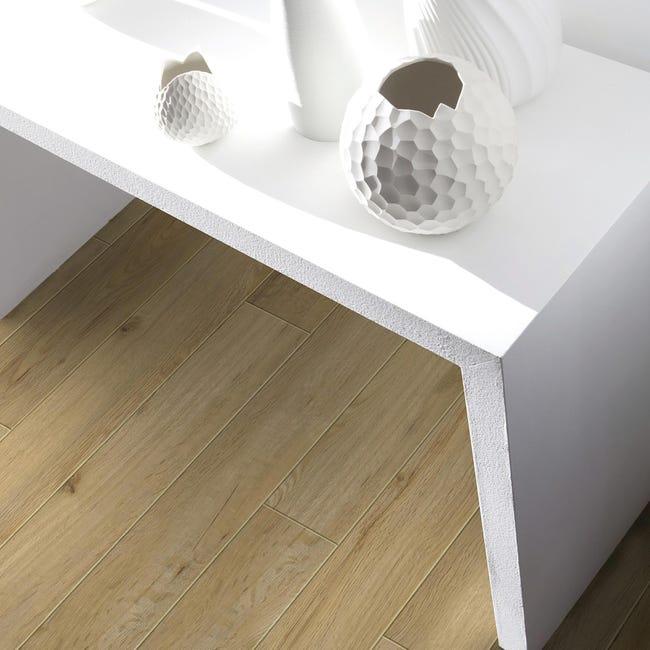 Pavimento PVC flottante clic+ Senso Premium Columbia Sp 4.5 mm giallo / dorato - 1