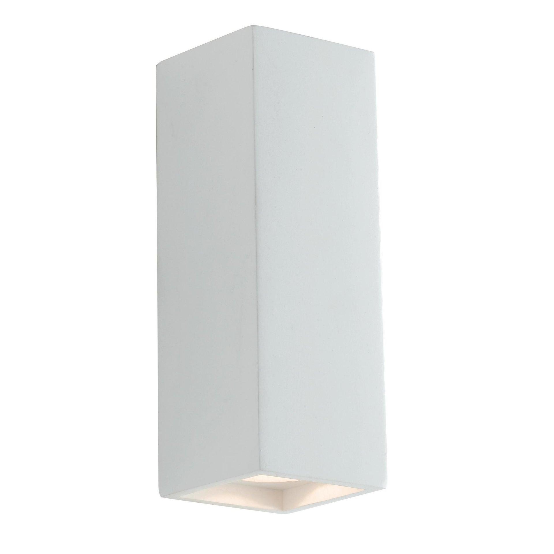 Applique design gesso Foster bianco, in calcestruzzo, 7.3 cm, 2 luci INTEC - 2