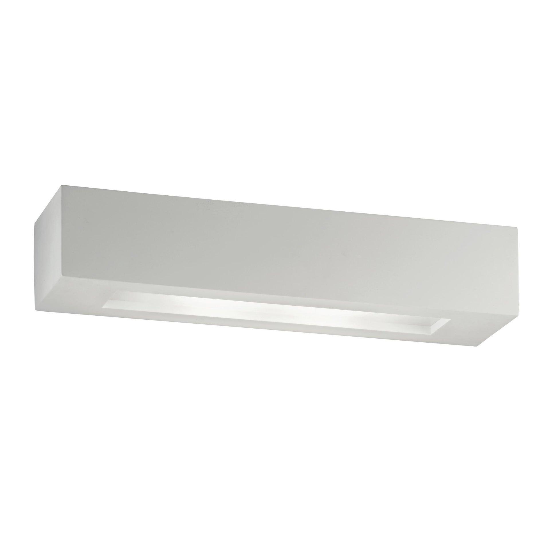 Applique design Candida bianco, in gesso, 2 luci INTEC - 3