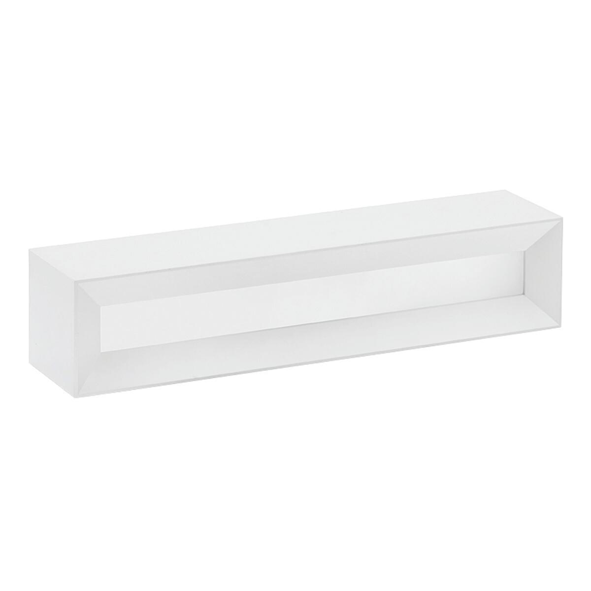 Applique design Hermione bianco, in gesso, 7x35 cm, 2 luci TECNICO - 8