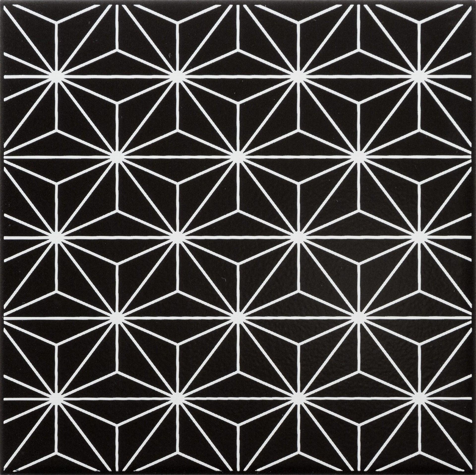 Piastrella decorativa Astuce 20 x 20 cm sp. 6.5 mm nero - 7
