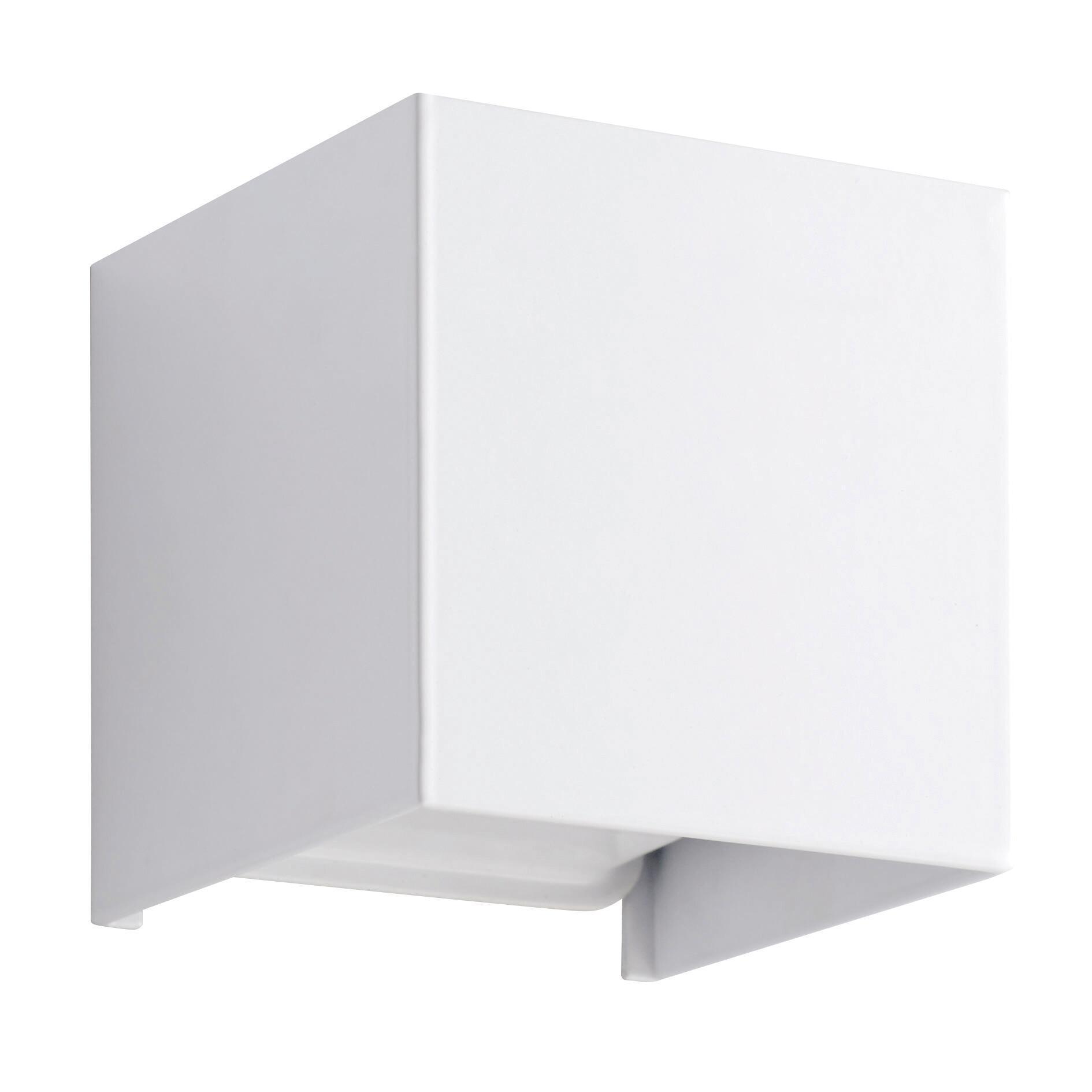 Applique design Kubbo LED integrato bianco, in alluminio, D. 10.0 cm 10.0x10.0 cm, INSPIRE - 4