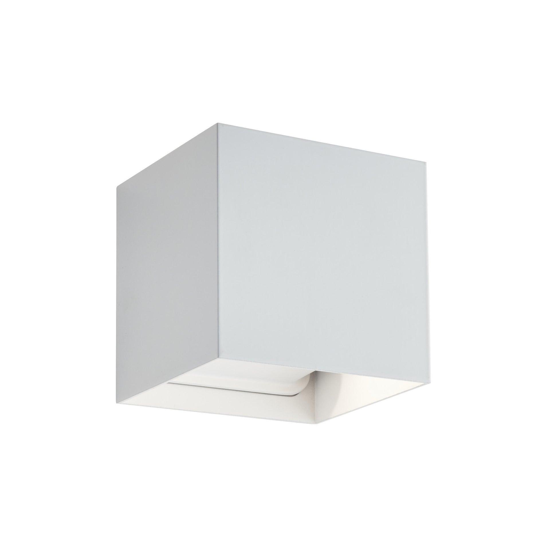 Applique design Kubbo LED integrato bianco, in alluminio, D. 10.0 cm 10.0x10.0 cm, INSPIRE - 7