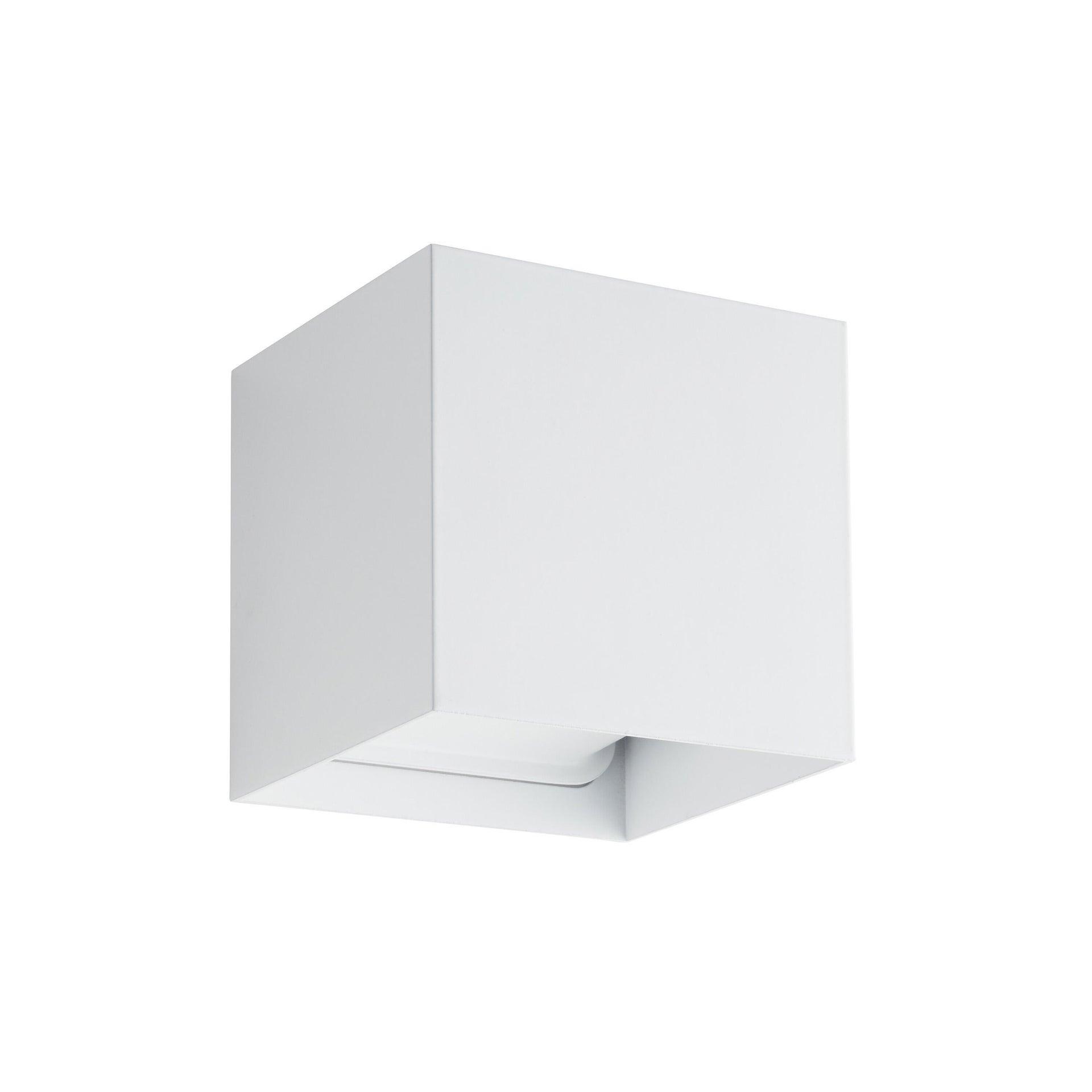 Applique design Kubbo LED integrato bianco, in alluminio, D. 10.0 cm 10.0x10.0 cm, INSPIRE - 3