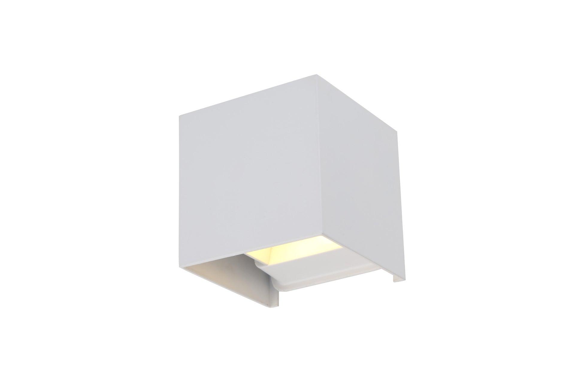 Applique design Kubbo LED integrato bianco, in alluminio, D. 10.0 cm 10.0x10.0 cm, INSPIRE - 5