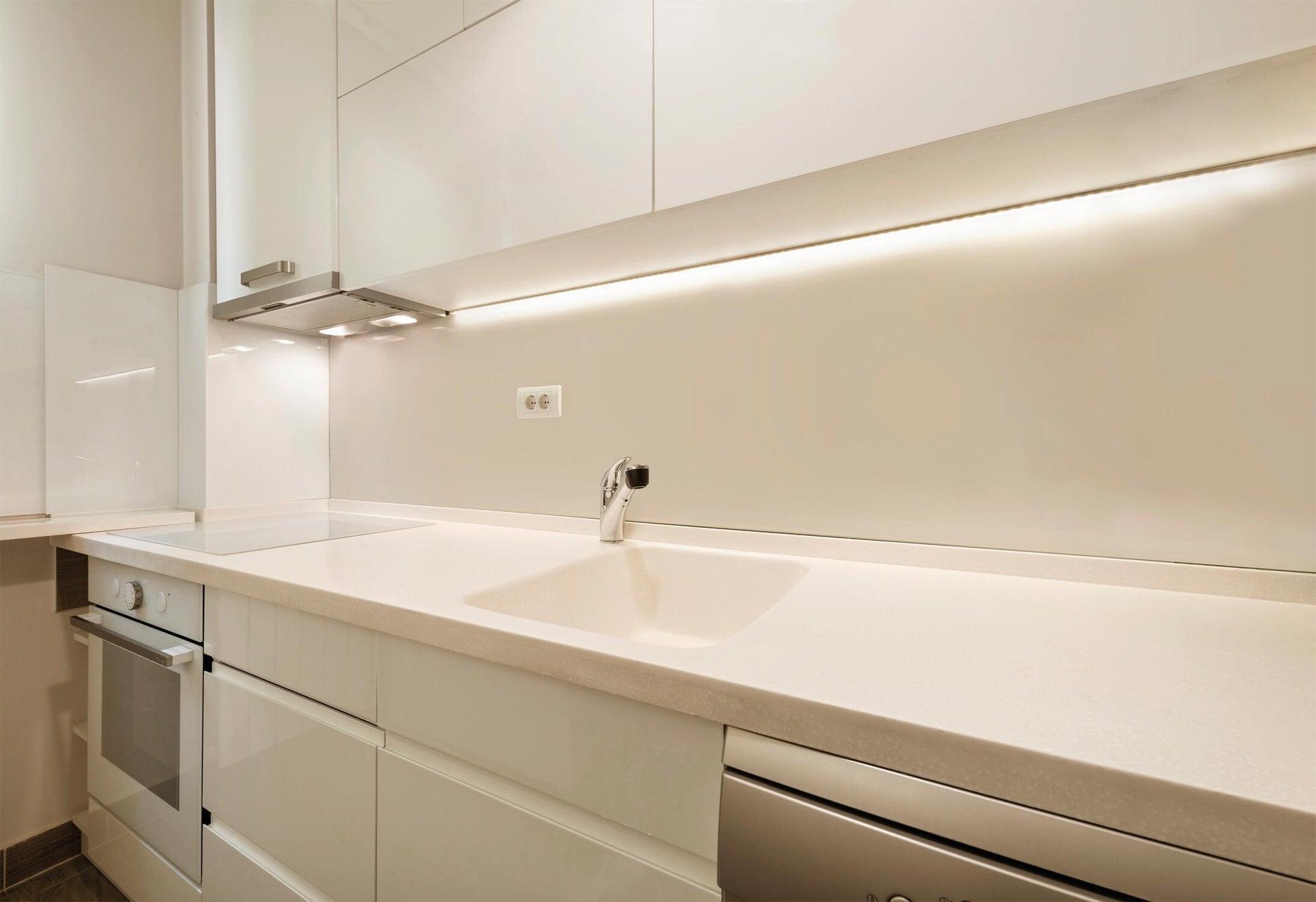 Striscia led 5m luce cct regolazione da bianco caldo a bianco freddo 400LM IP20 INSPIRE - 4