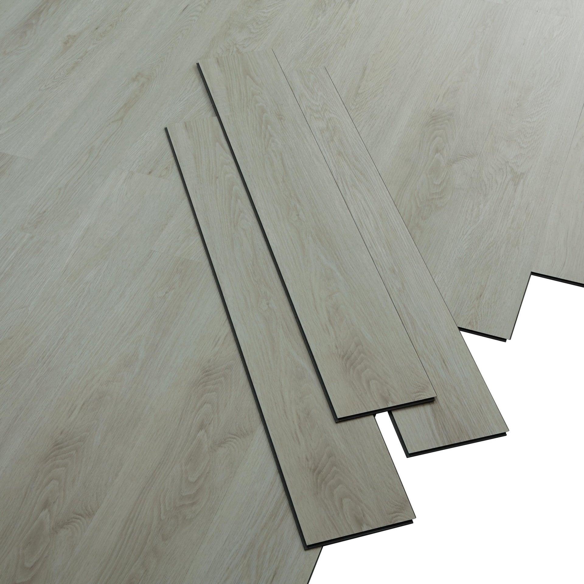 Pavimento PVC flottante clic+ Trend white Sp 4 mm bianco - 3
