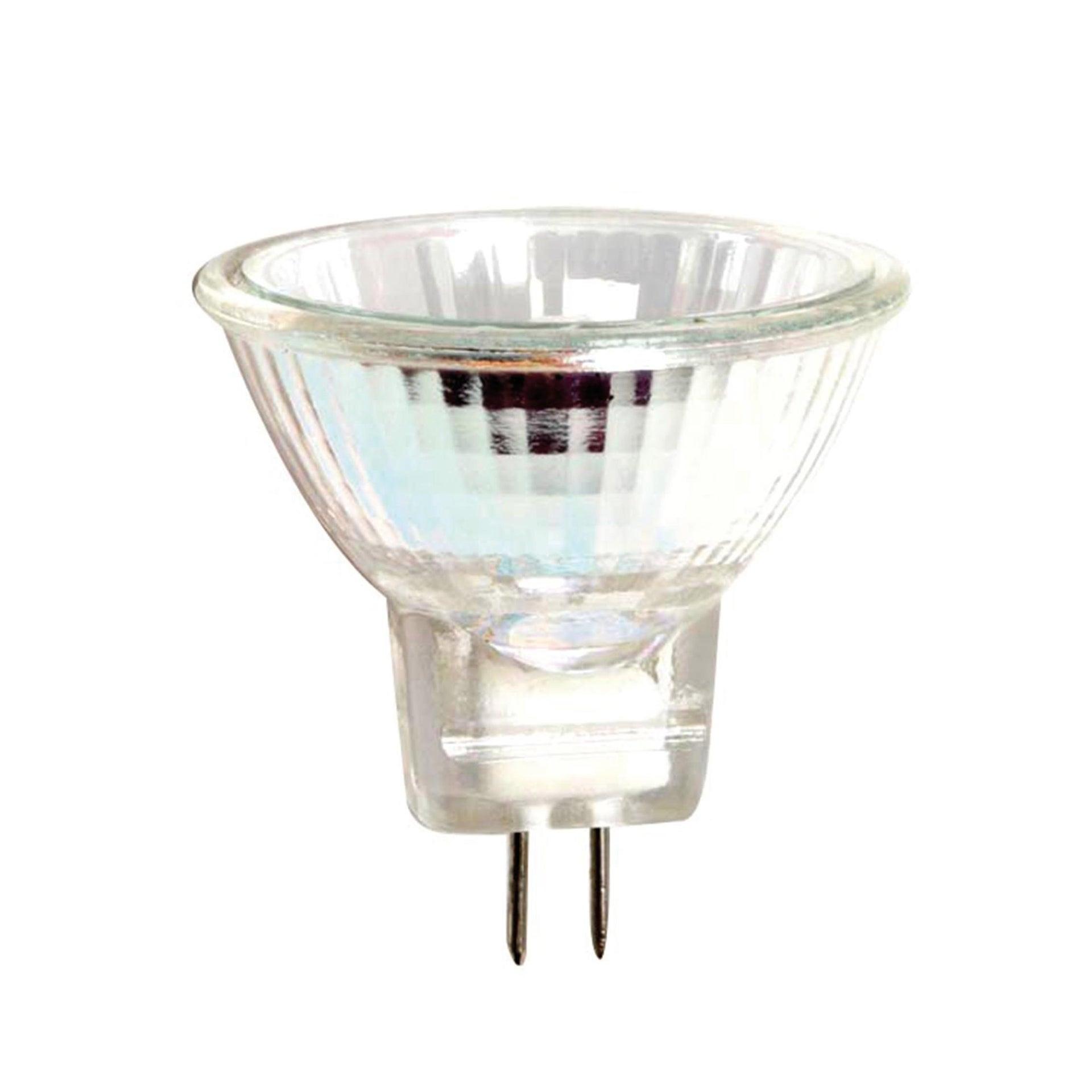 Lampadina Alogena, GU4, Faretto, Trasparente, Luce calda, 25W=300LM (equiv 35 W), 20° , LEXMAN - 1