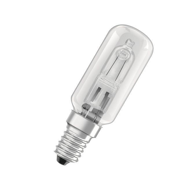 Lampadina Alogena, E14, Tubo, Trasparente, Luce calda, 40W=490LM (equiv 40 W), 360° , OSRAM - 1