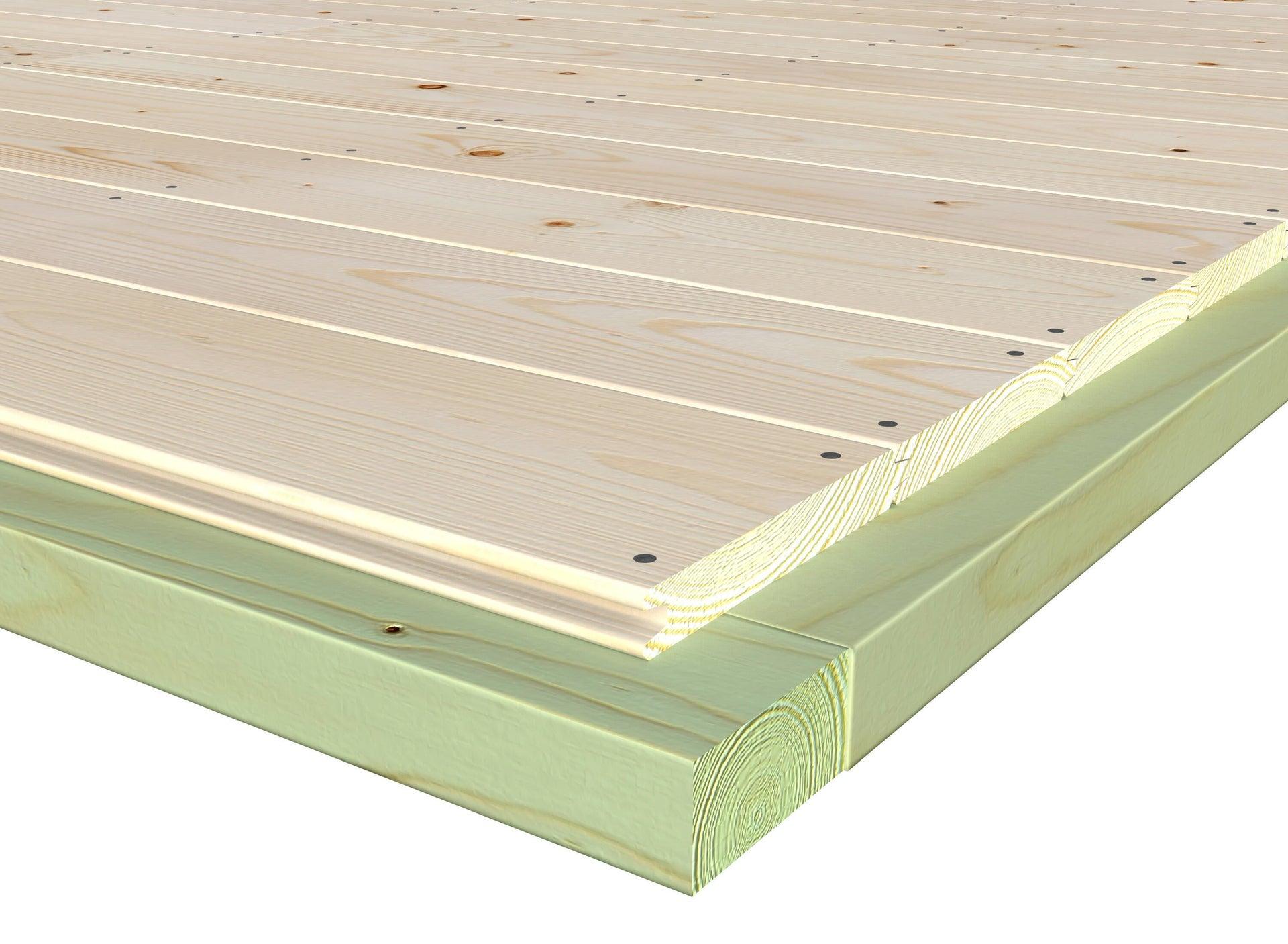 Pavimento per casetta da giardino Primula DECOR ET JARDIN 242.8 x 270 x 45 cm - 2