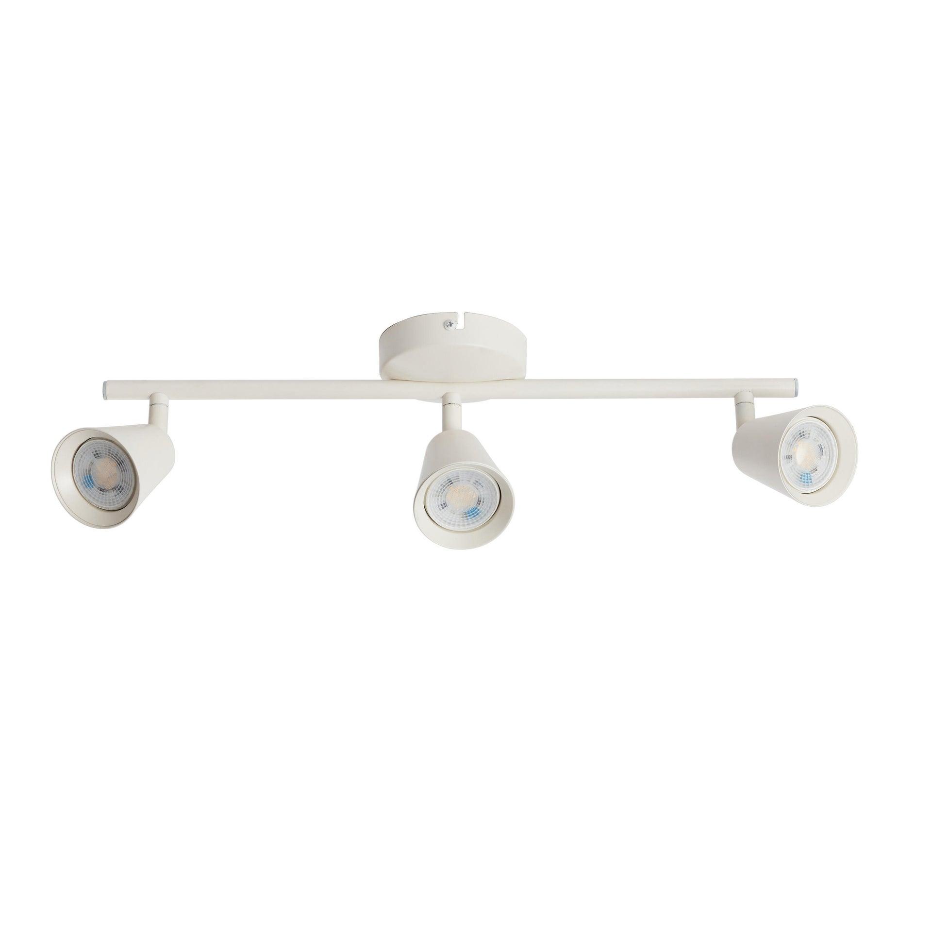 Barra di faretti Chapo bianco, in metallo, LED integrato 3.5W 840LM IP20 INSPIRE - 6