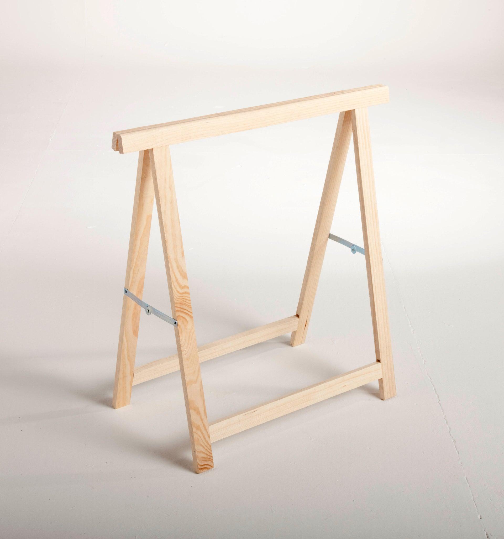 Cavalletto in pino Standard L 73.5 x P 73.5 x H 74 cm legno naturale - 8